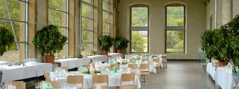Catering in der Orangerie von Weikersheim, Restaurant Bundschu in Bad Mergentheim