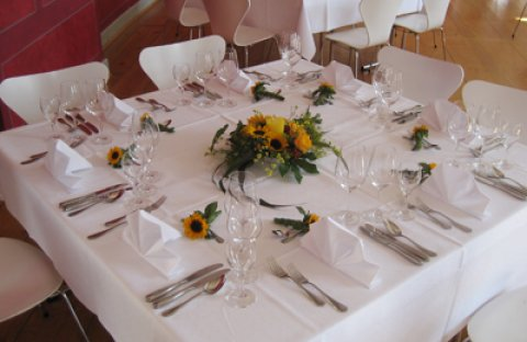 Informationen rund ums Catering, Hotel Bundschu, Bad Mergentheim